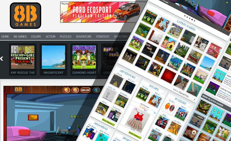 8bgames - A Trendy Game Portal