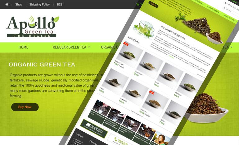 Apollo Green Tea
